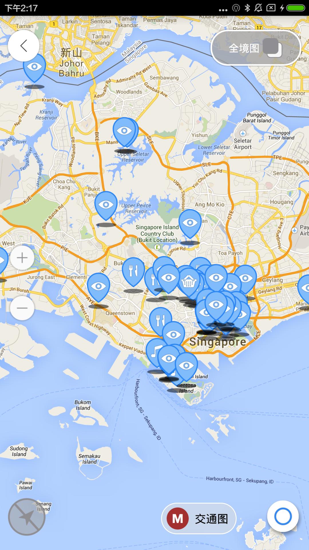 新加坡离线地图_提供新加坡离线地图3.0