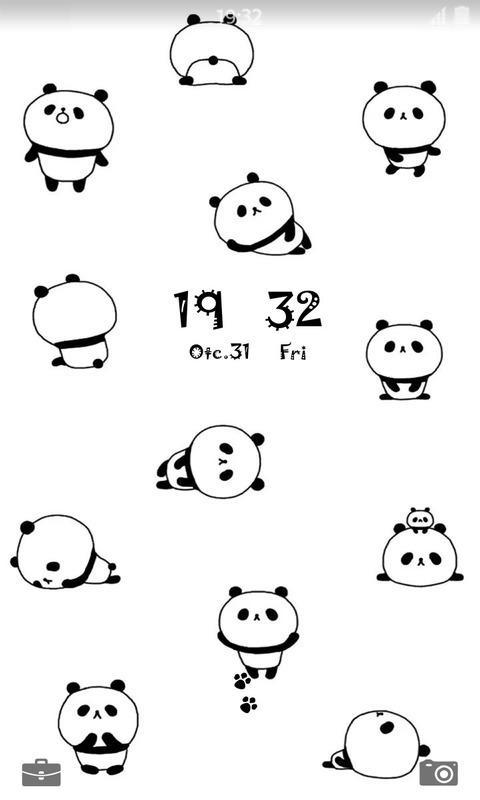 可爱小熊猫壁纸锁屏_提供可爱小熊猫壁纸锁屏1.2