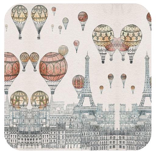 手绘气球-壁纸主题桌面美化